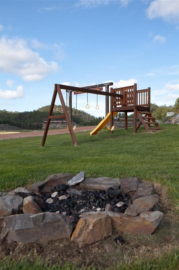 fire pit and play ground